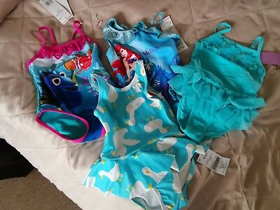Girls Bundle Of Swimsuits 18-24 Months