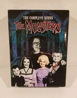The Munsters The Complete Series DVD Box Set