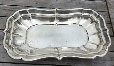 Reed Barton Antique Sterling Silver 11' Rectangular  Dish Windsor Pattern  X959R