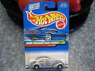 Hot Wheels 2000 Treasure Hunt Series, 1936 Cord,1:64 Scale Toy