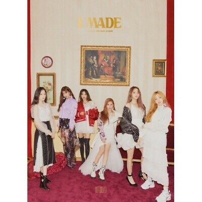 (G)I-Dle [I Made] 2nd Mini Album CD+112p Booklet+1p PhotoCard+2p Sticker K-POP