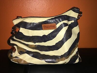 8b1a44bb884e DOONEY   BOURKE Large Smooth Leather McKenzie Hobo Bag w  Leather ...