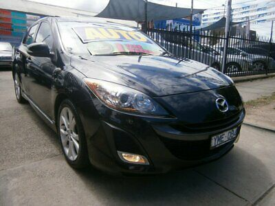 2010 Mazda 3 BL 10 Upgrade SP25 Black Automatic 5sp A Hatchback