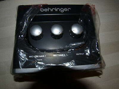 Behringer U-Phoria UM2 Audio Interface Store Display Unit - Mint Working Conditi