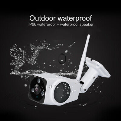 Outdoor Waterproof HD 1080P Wireless WIFI IP Camera 360° Panoramic Camera RL1