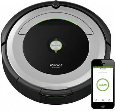Robot Vacuum 3-Stage Cleaning System Low Battery Indicator Wi-Fi Connected