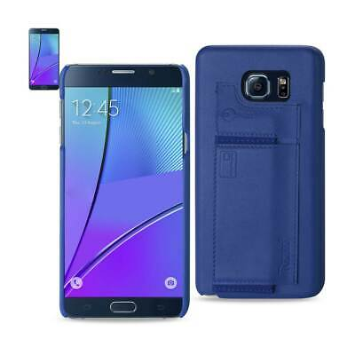 Samsung Galaxy Note 5 Rfid Genuine Leather Protection And Key Holder Ultramarine