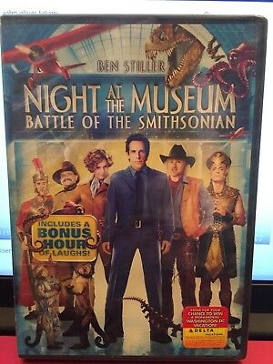 Night at the Museum: Battle of the Smithsonian DVD New Movie Ben Stiller
