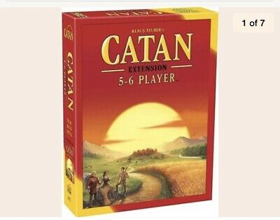 Settlers of Catan Board Game  5-6 Player EXTENSION EXPANSION Pack - Sealed!