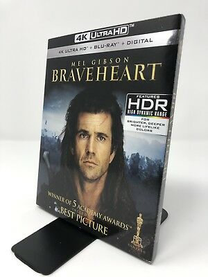 Braveheart (4K Ultra HD + Blu-ray) No Digital Copy w/ Slipcover