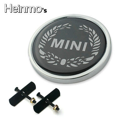 For MINI Cooper S Clubman Countryman Metal Car Front Grille Badge Emblem Logo