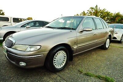 1995 FORD NF FAIRLANE GHIA AUTOMATIC SEDAN. Dual Fuel. Suit NA, NL, AU, LTD