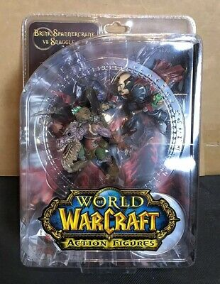 World of Warcraft WoW DC Unlimited Series 8 Brink Spannercrank Action Figure