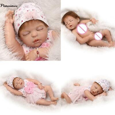 Realistic Reborn Baby Doll Boy/Girl UK Artist Child Birthday Gift Silicone Vinyl