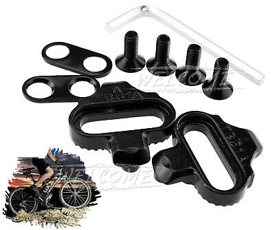 Mountain Bike SPD Pedals Cycling Cleats Single Release Cleats For Shimano