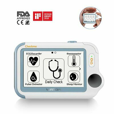 MRL MEDICAL RESEARCH Labs Portable DeFib ECG Monitor 360SLx