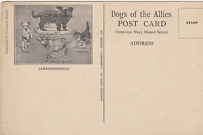 Dogs Of The Allies - Sea-Dog Pat (Us Navy) Military Charity (Ref 4625/18)