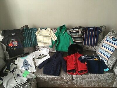 Next Baby Boys Bundle Clothes Tops Hoodies Etc All New 12-18 Months