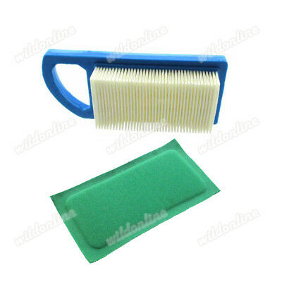 Air Filter Set For Briggs & Stratton 613022 650821 697152 698413 797007 794421
