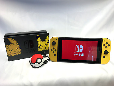 limited edition pokemon nintendo switch