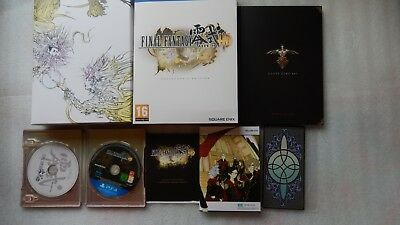Final Fantasy Type-0 HD Collectors Edition PS4 with Steelbook for PlayStation 4