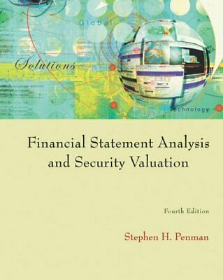 Financial Statement Analysis and Security Valuation 4ed Stephan H. Pen(ePub,PDF)