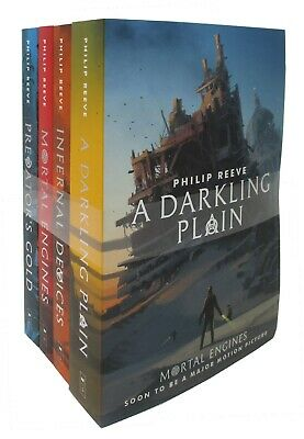 Mortal Engines Quartet 4 Books Collection Set by Philip Reeve