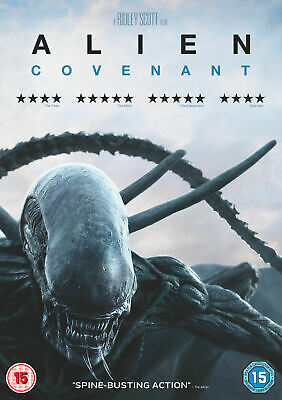 Alien Covenant [DVD, 2017] - Brand New! - Free P&P!
