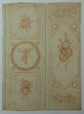 Superb 18th.Century Old Master Neo Classical  Drawing Italian 1800s Cipriani