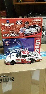 Kevin Harvick #29 GM Goodwrench Service Plus 2001 Monte Carlo Rookie of the Year