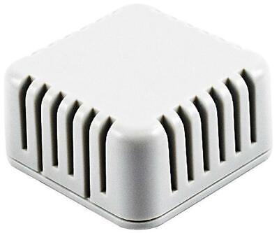 IP30 Miniature Vented Enclosure, White, 40x40x20mm - HAMMOND