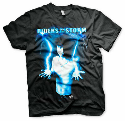 Officially Licensed Riders On The Storm - Jim Morrison Men's T-Shirt S-XXL Sizes