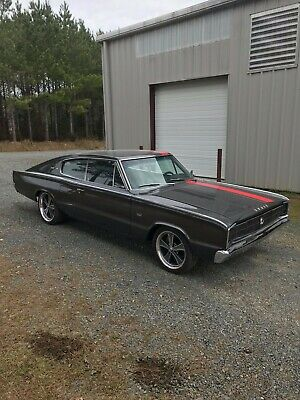 1966 Dodge Charger chrome 66 Charger For sale Rotisserie restoration  Stock 1973 400  Stock Auto 727 Trans