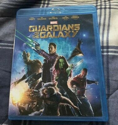 Guardians of the Galaxy (Blu-ray, 2014) PLAYED ONCE AWESOME CONDITION