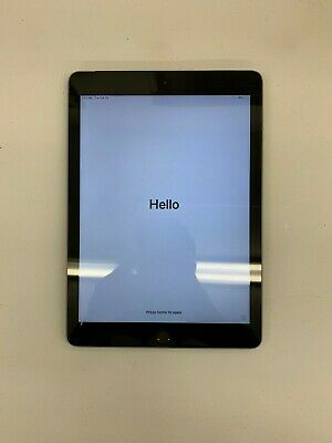 Apple iPad 6th Gen. 32GB, Wi-Fi   Cellular (Unlocked), 9.7in - Space Gray