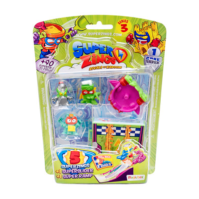 SuperZings Rivals of Kaboom Series 3 5 Figure Pack