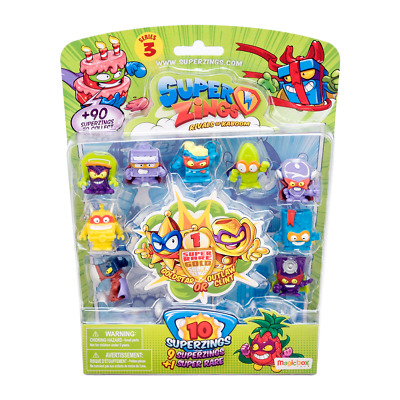 SuperZings Rivals of Kaboom Series 3 10 Figure Pack