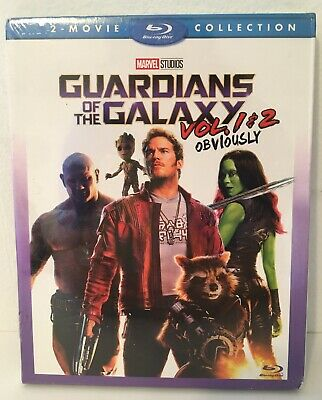 Guardians Of The Galaxy Vol. 1 & 2 [Blu-ray Box Set] 2-Movie Collection Marvel