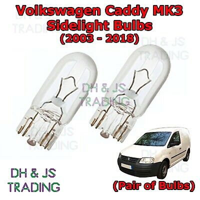 Volvo S40 MK2 White LED /'Trade/' Wide Angle Side Light Beam Bulbs Pair Upgrade