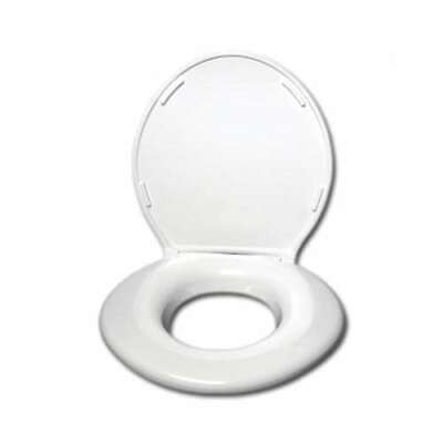 Incredible Big John 6 W Oversized Toilet Seat With Cover For Round Or Machost Co Dining Chair Design Ideas Machostcouk