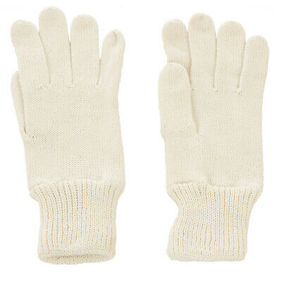 5534aa43411 Genuine CZECH Army Issue Combat Winter Knitted Wool Gloves - White - Unused
