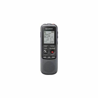 Sony ICDPX240.CE7 ICD-PX240 dictaphone 4GB - MP3 - 300 mW - LCD - Black/Grey
