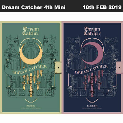Dream Catcher The End Of Nightmare 4th Mini 2SET CD+Book+Card+Etc+Tracking Code