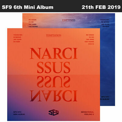 SF9 Narcissus 6th Mini Album 2SET CD+Booklet+PhotoCard+Etc+Tracking Code