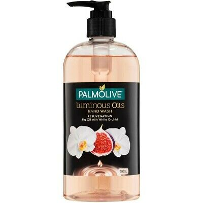 Palmolive Luminous Oils Hand Wash Rejuvenating Fig Oil with White Orchid 500mL