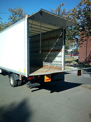 Ford Transit luton Cantilever tail lift