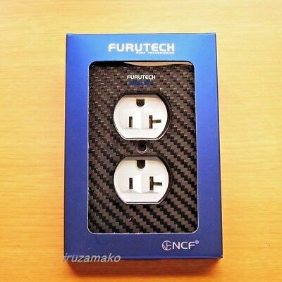 105-D NCF Official FURUTECH high-end grade / neodamper / outlet cover