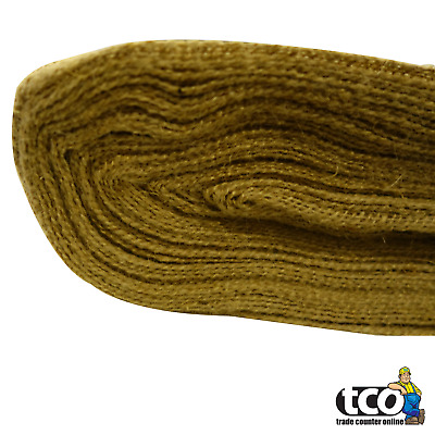 Hessian Fabric For Frost Protection   1.37m x 46m Roll   Construction Grade