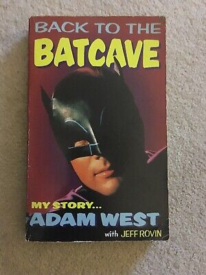 Titan Back To The Bat Cave Signed By Adam West Dc Comics Book