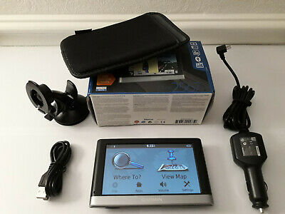 UK /& ROI MAPS RF2238 GARMIN NUVI 2567 LM SATNAV WITH W.EUROPE
